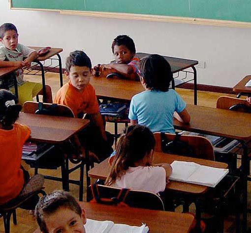 Enfants en classe
